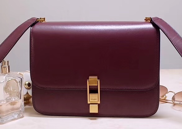 IMG 200110a 29 cr - Saint Laurent Carre Satchel Bag In Smooth Leather 585060