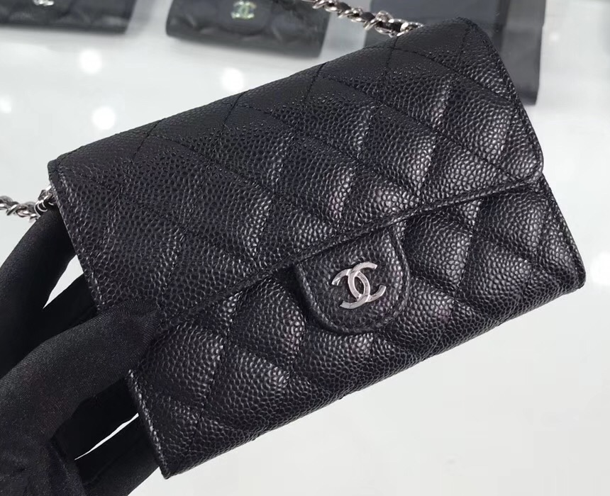 IMG 200202hot 109 cr - Chanel Classic Clutch with Chain Bag A84512