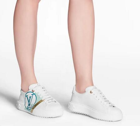 QQ截图20200324115545 - Louis Vuitton Time Out Sneakers with Graphic Stripe and LV Circle 2020