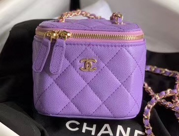 IMG 200525a 333 cr - Chanel Vanity with Classic Chain Bag 2020