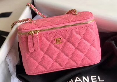 IMG 200525a 553 cr - Chanel Vanity with Classic Chain Bag 2020