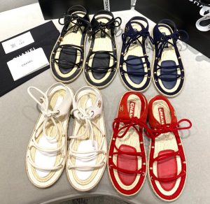 IMG 200716a 718 cr 300x292 - Chanel Lace-up Espadrilles Sandals G36176 2020