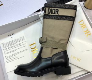 IMG 200803a 170 ccr 300x263 - Dior Heel 3cm D-Major Boots in Technical Fabric and Calfskin 2020