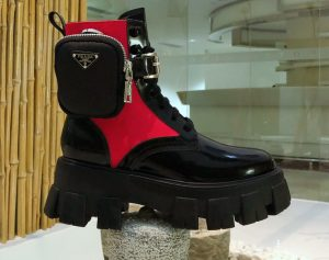 IMG 200922ss 1172 cr 300x237 - Prada Monolith Brushed Rois Combat Boots with Removable Nylon Pouches 2020