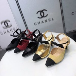 IMG 200922yy1 18 300x300 - Chanel Shoes with Bow Strap 2020