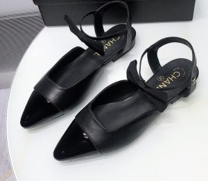 IMG 200922yy1 76 cr 300x262 - Chanel Shoes with Bow Strap 2020