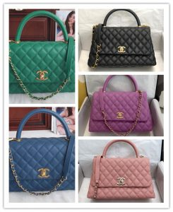 pic20092606 245x300 - Chanel Coco Handle Flap Bag with Top Handle A92990/A92991 Top Quality