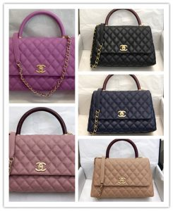 pic20092608 245x300 - Chanel Coco Handle Flap Bag with Top Handle A92990/A92991 Top Quality