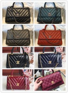 pic20092615 219x300 - Chanel Coco Handle Flap Bag with Top Handle A92990/A92991 Top Quality